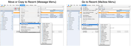MailRecent Mail Plugin for Mac