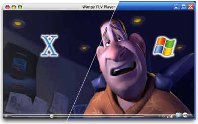 Wimpy FLV Player for Mac