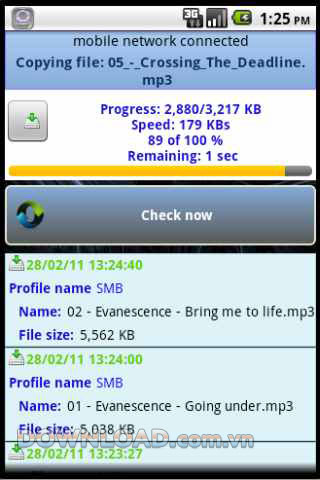 PCFileSync for Android
