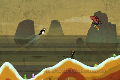 Flying Panda-Catch bandits for iOS