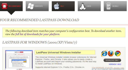 LastPass For Mac
