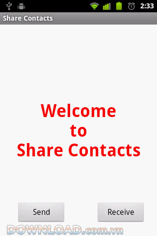 Share Contacts for Android