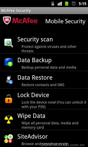 McAfee All Access For Android