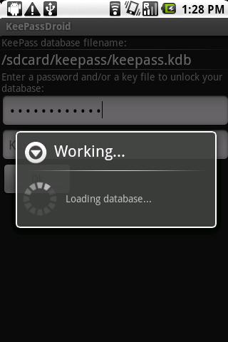 KeePassDroid for Android