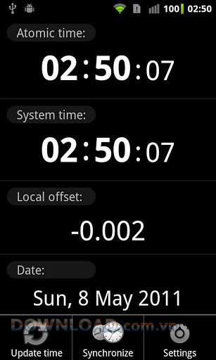 ClockSync for Android