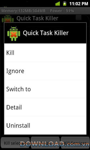 Quick Task Killer For Android