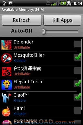 Epic Task Killer For Android