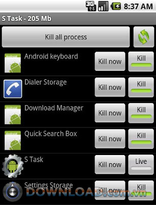 S Task For Android