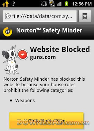 Norton Safety Minder For  Android