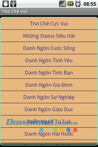 Thơ Chế Vui for Android