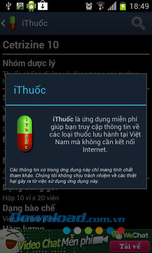 Thuoc Vietnam for Android