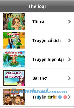 Kể truyện for Android
