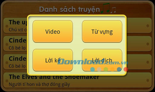 Học Tiếng Anh qua truyện for Android