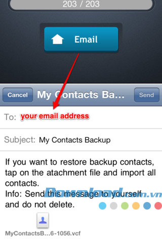 My Contacts Backup for iOS