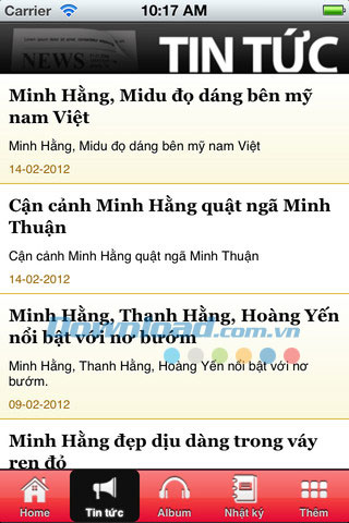 Minh Hằng for iOS