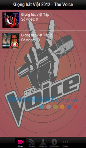The Voice 2012 for iOS