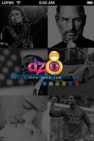 Dzo8 News for iOS