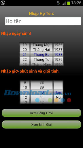 Xem tử vi for Android