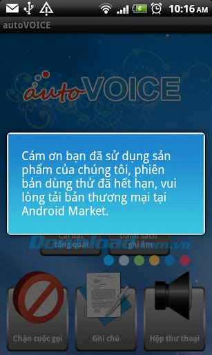 autoVoice for Android