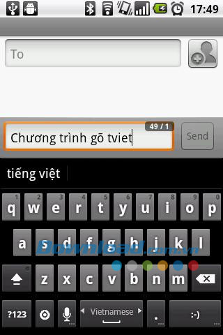 GoTiengViet 3 Donut for Android