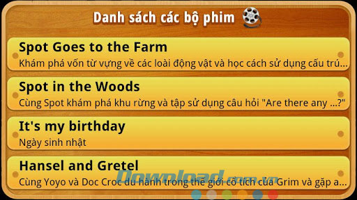 Học tiếng Anh qua phim for Android