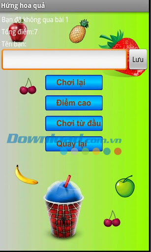 Hứng hoa quả for Android
