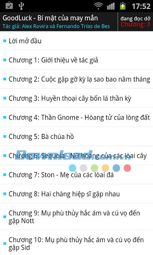 Bí mật của may mắn for Android