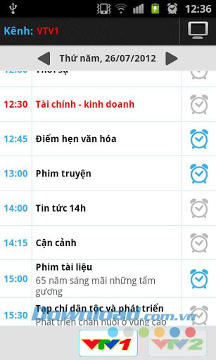 Lịch Tivi for Android