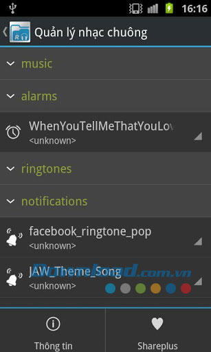 iRingtone for Android