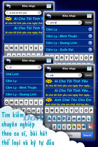CloudKaraoke Soncamedia for iOS
