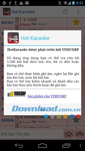 Hot Karaoke for Android