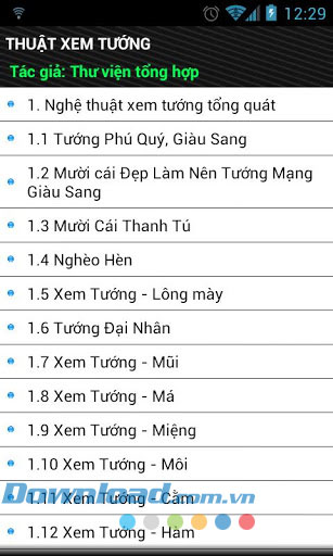 Thuật xem tướng for Android