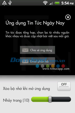 Tin tức ngày nay for Android