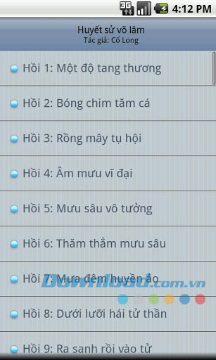 Huyet su vo lam for Android