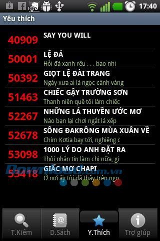 Karaoke List for Android