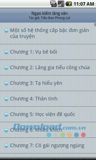Ngao kiem lang van for Android