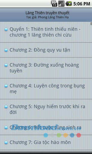 Lang Thien truyen thuyet for Android