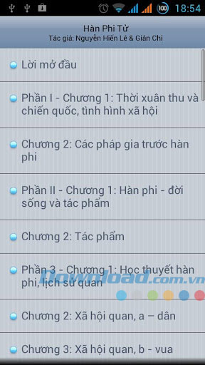 Hàn Phi Tử for Android