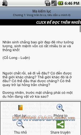 Ma kiếm lục for Android