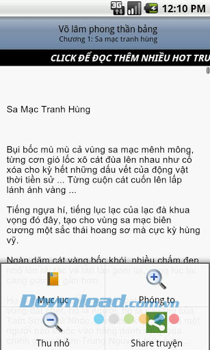 Võ Lâm Phong Thần Bảng for Android