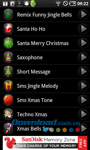 Christmas Ringtones for Android