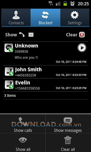 Phone Call Blocker for Android