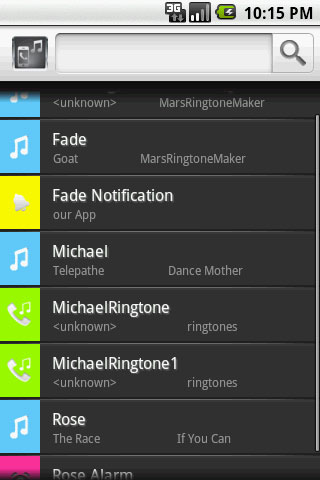 Mars Ringtone Maker for Android