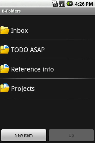 B-Folders For Android