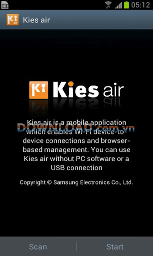 Kies Air for Android
