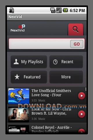 NextVid for Android