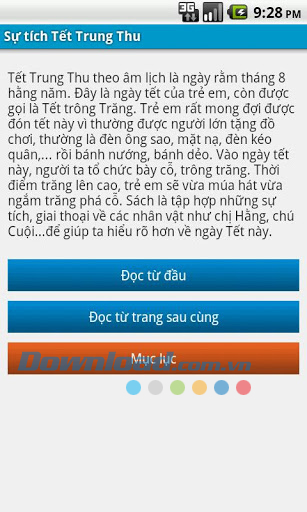 Sự tích Tết Trung Thu for Android