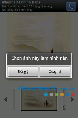 Hình nền tranh Thuỷ Mặc for Android
