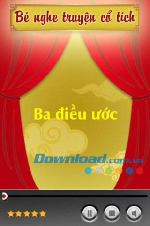 Bé nghe truyện cổ tích for Android