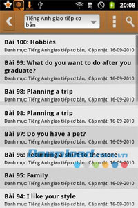 Tiếng anh giao tiếp for Android